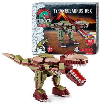 Tirannosauro Da Costruire Lego Compatibile 4kiddo