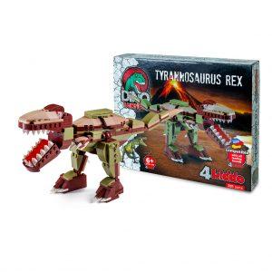 Tirannosauro Modellino Lego Compatibile Scatola