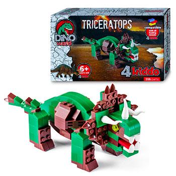 Triceratopo Da Costruire Lego Compatibile 4kiddo