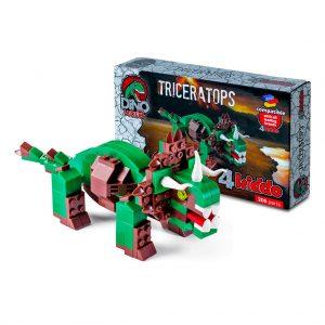 Triceratopo Lego Compatibile 4kiddo Modellino Scatola
