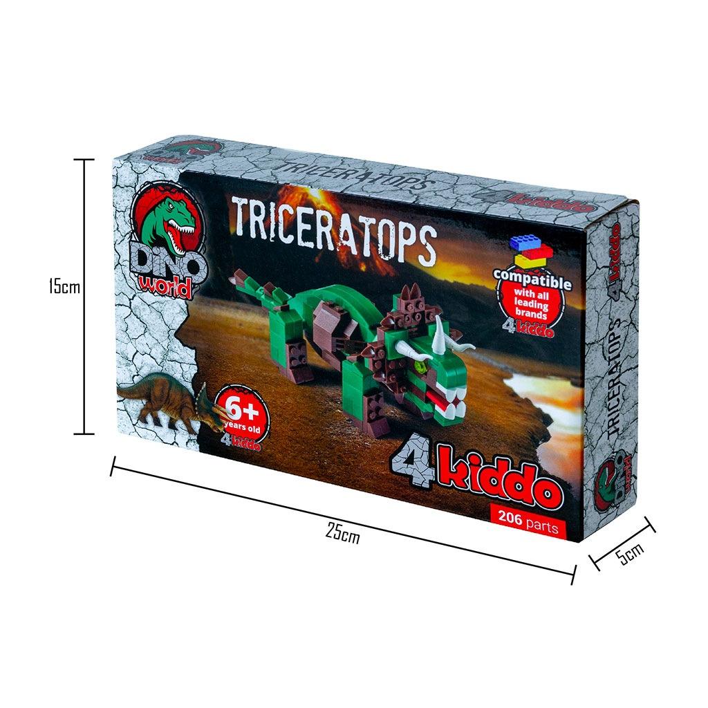 Triceratopo Lego Compatibile 4kiddo Scatola Dimensioni