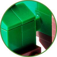 Triceratopo Lego Compatibile 4kiddo Zampe