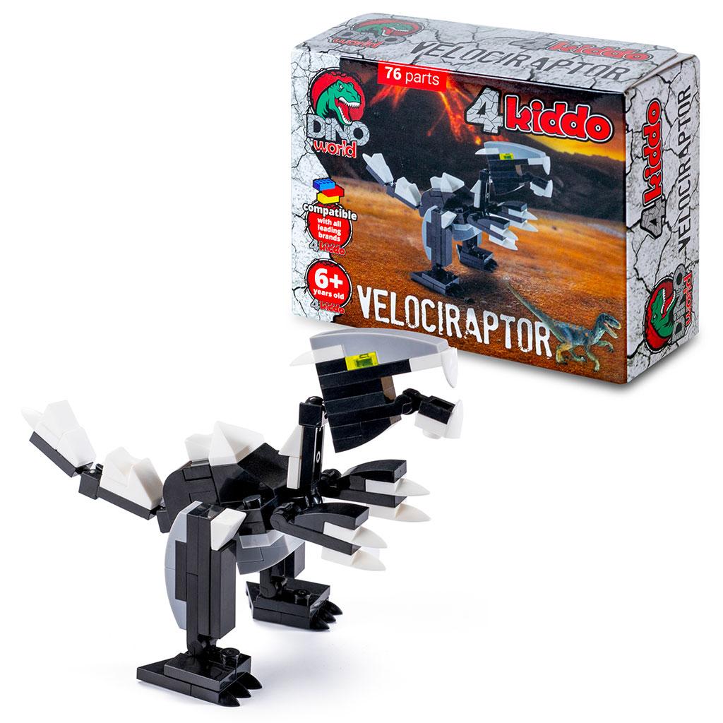 Velociraptor 4kiddo Lego Compatibile Modellino