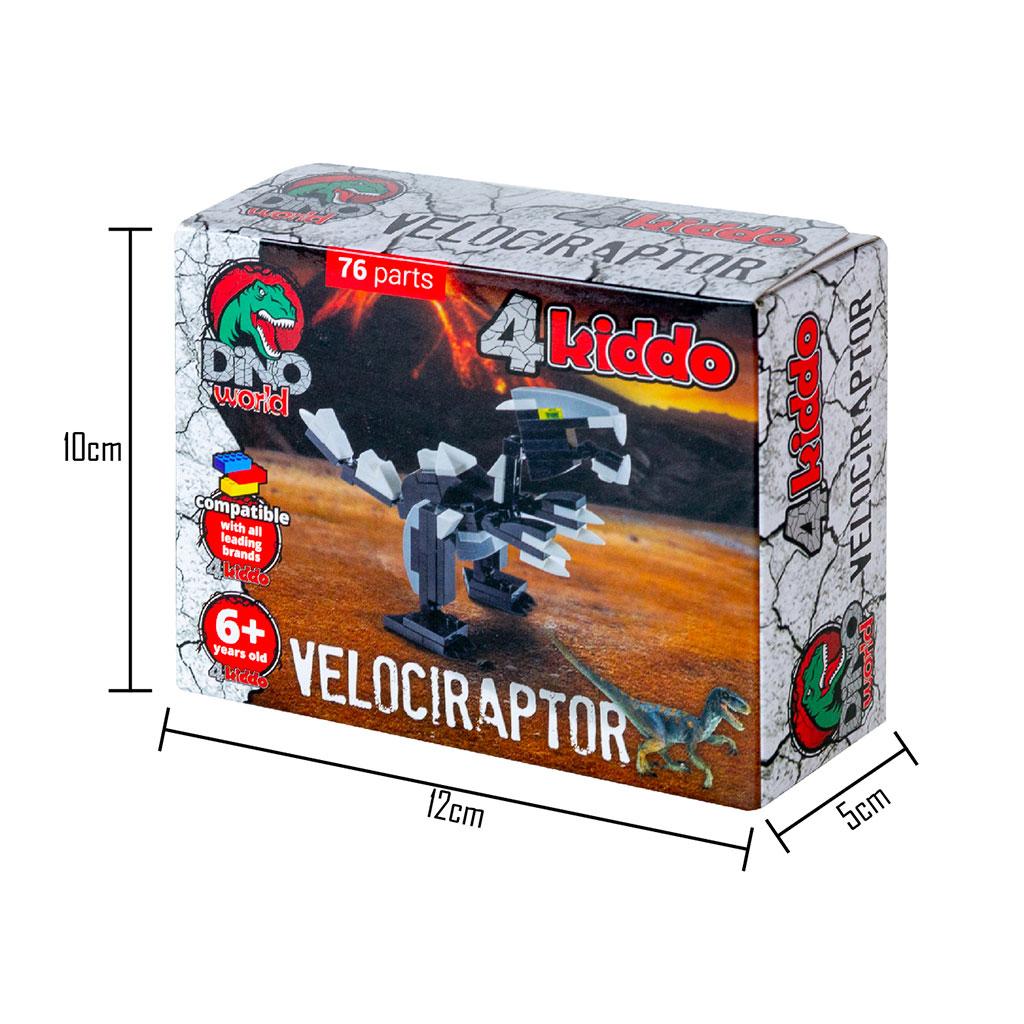Velociraptor 4kiddo Scatola Dimensioni