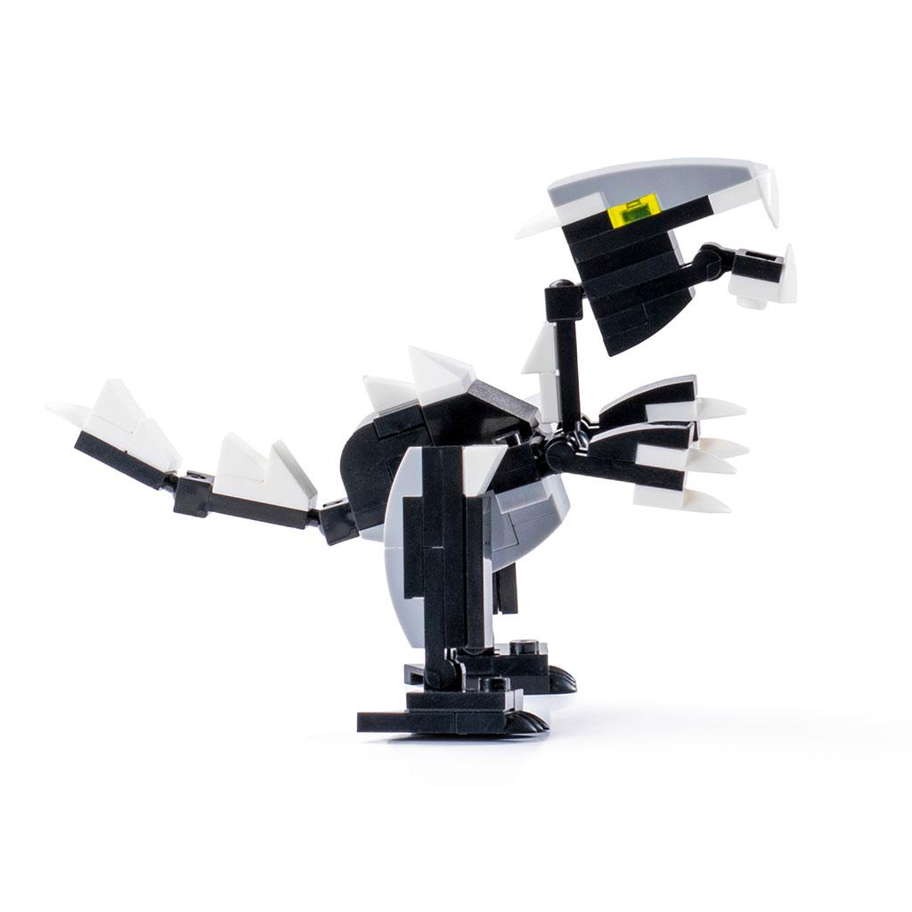 Velociraptor Lego Compatibile 4kiddo Lato