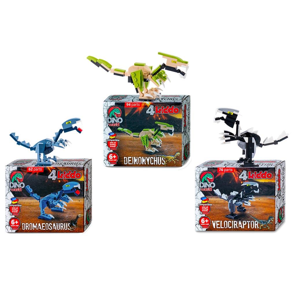 Dinosauri Raptor Set Lego Compatibile