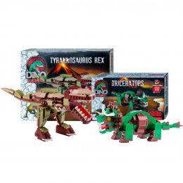 T Rex Contro Triceratopo Set Lego Compatibili