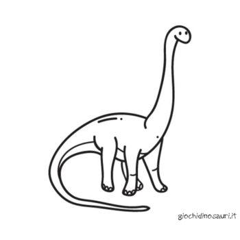 Brachiosauro Immagini Da Colorare Cover