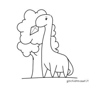 Brontosauro Da Colorare E Stampare Cover