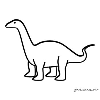 Immagini Brontosauro Da Colorare Cover