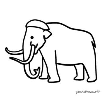 Immagini Da Colorare Del Mammut Cover