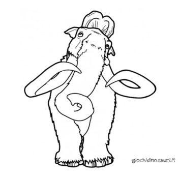 Mammut Da Colorare E Stampare Cover