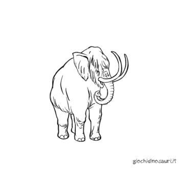 Mammut Disegni Da Colorare Cover