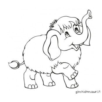 Mammut Immagini Da Colorare Cover