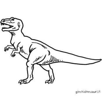 Tirannosauro Da Stampare E Colorare Cover