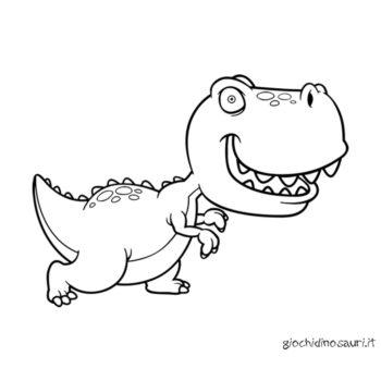 Tirannosauro Rex Da Colorare Cover