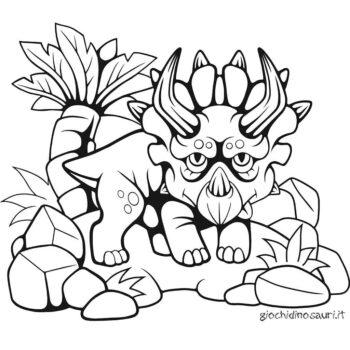 Triceratopo Da Colorare E Stampare Cover