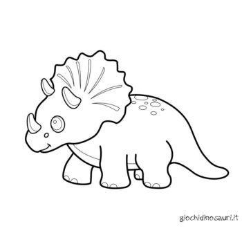 Triceratopo Da Stampare E Colorare Cover